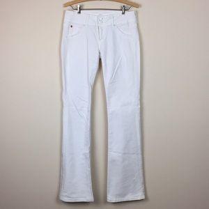 Hudson - Super Model Signature White Denim Jeans